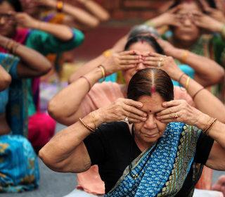 Namaste: Millions Exercise on International Yoga Day