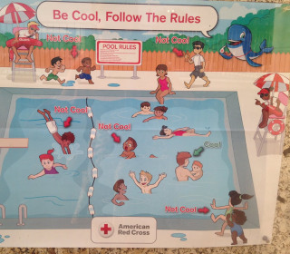 Racist Pool Safety Poster Brings Red Cross Apology