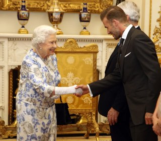 Prince Harry, David Beckham Honor Queen in Special Tribute