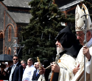 Pope Francis Says 'Genocide' on Armenia Trip, Likely Angering Turks
