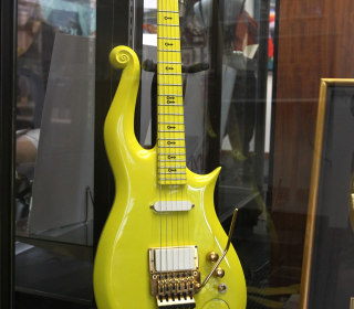 'Yellow Cloud' Prince Guitar Bought by Jim Irsay for  $137,500 at Auction