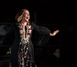 Adele Burps Onstage at Glastonbury, Blames It on a 'Dirty Burger'