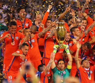 Latino Soccer Fans React to Chile's Triumph, Lionel Messi's Heartbreak