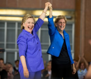 Clinton and Warren Demonstrate Power of Their New Alliance