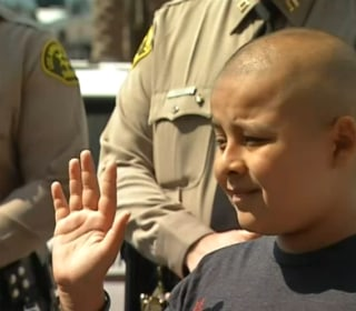 This 12-Yr-Old Cancer Patient Lives Dream as K-9 Deputy Sheriff