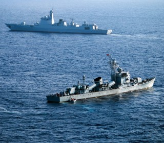 China Holds Combat Drill in South China Sea Ahead of Key Ruling