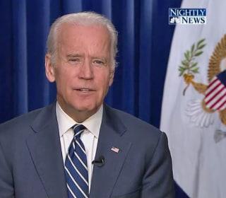 Vice President Joe Biden Filming Cameo on 'Law & Order' in Rape Kit Episode