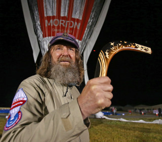 Russian Aims for World Record in Solo Balloon Trek Around Globe