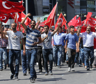Thousands React in the Aftermath of Failed Turkish Coup