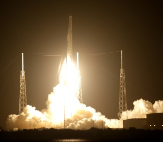 SpaceX Lands Fifth Rocket During Space Station Cargo Launch