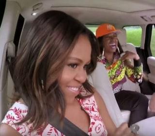 Michelle Obama Raps With Missy Elliott on James Corden's 'Carpool Karaoke'