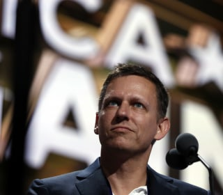 Peter Thiel Makes History at RNC: 'I'm Proud to be Gay'