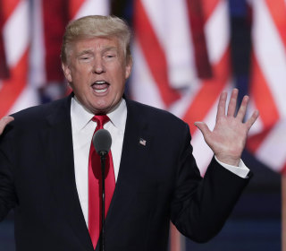 Trump Ends Convention as He Started Campaign: Linking Immigrants to Crime