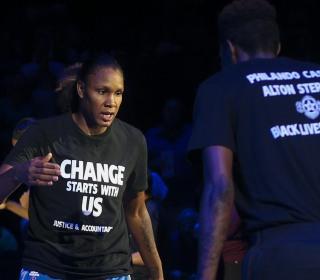 WNBA Stars Angered Over League Fines for 'Black Lives Matter' Protest