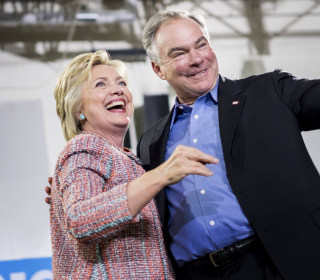 Watch Live: Clinton, Kaine Make First Official Appearance as 2016 Ticket