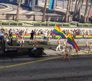 Pride Parade Pops Up in Unlikeliest of Places: Grand Theft Auto