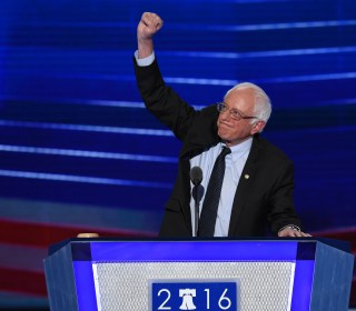 Bernie Sanders Takes His Bow on Convention's First Night