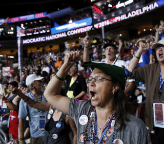 Boos and Cheers Ring Out as DNC Gets Underway