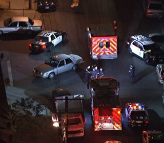 Cop Wounded, Man Fatally Shot During Gunbattle: LAPD