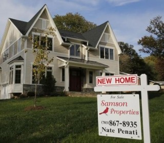 New Home Sales Rise to Near Eight-and-a-Half Year High in June