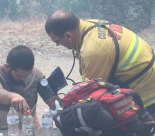Eight Hikers Rescued After 5 Days Lost in Wildfire Zone