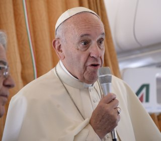 Pope Francis Says 'The World Is at War' After ISIS-Linked Church Attack