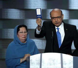 Khizr Khan Pleads to McConnell, Ryan to Take Moral Stand Against Trump