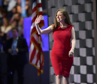Chelsea Clinton: Mom a 'Fighter' Who 'Never, Ever Gives Up'