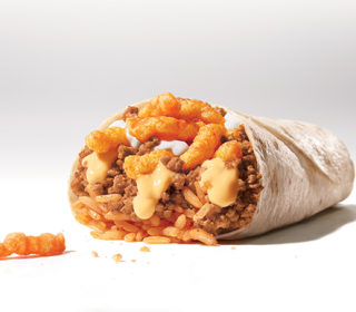 Taco Bell is Testing Out a Burrito Stuffed With Cheetos