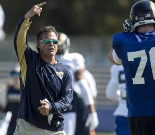 NFL Coach Admits He's Sleeping on Air Mattress in Dorm