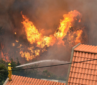 Massive Fires Rage in Portugal