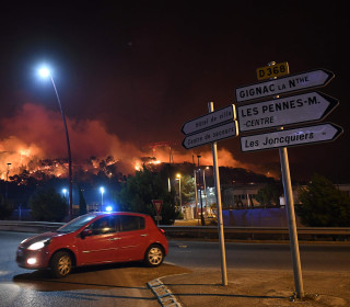 Fires Ravage Southern France, Threatening Marseilles