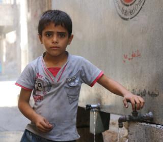 Ibrahim Alsaid, 6, Longs For School Amid Aleppo Chaos