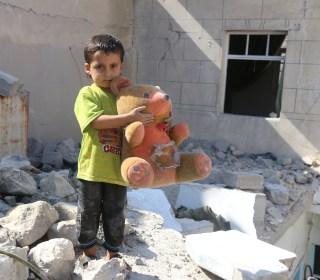 Aleppo Airstrike Destroyed All But Zakarya Badawi's Teddy Bear