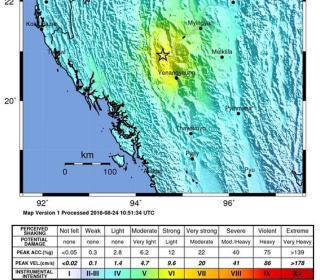 Powerful Earthquake Hits Myanmar Near Ancient Capital