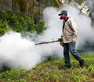 Tropical System Could Make Florida's Zika Fight EVen Harder