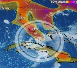 Tropical Depression Swirling Off Florida Threatens Heavy Rain; Flash Floods Hit Ohio