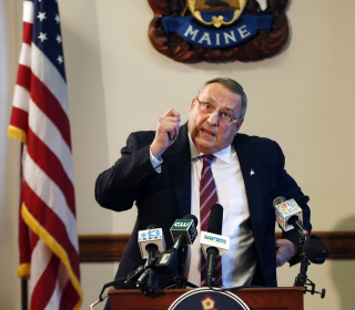 Maine's Controversial Governor Paul LePage Flirts With Quitting