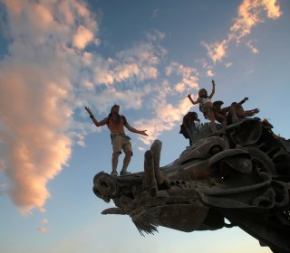 Desert Dreams Come to Life at Burning Man