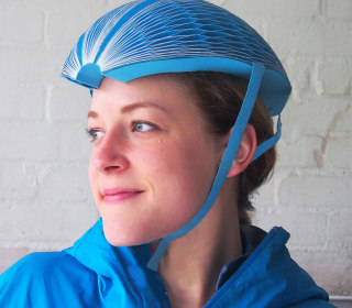 Meet the Disposable Bike Helmet of the Future: It Fits in Your Pocket