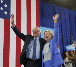 Sanders Attempts to Sway His Young Supporters Towards Clinton