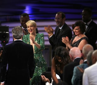 Grins and Gowns: Stars Shine at the Emmys
