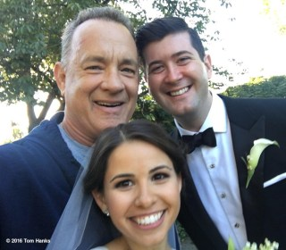 Tom Hanks Crashes Couple's Wedding Photos in Central Park