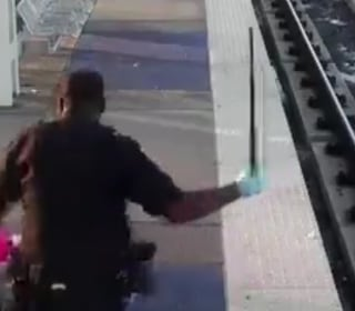 Caught on Camera: Texas Transit Cop Resigns After Train Station Beating