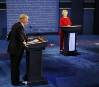 Breaking Down the Debate: Trump and Clinton's Most Frequently Used Words