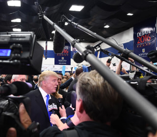 Donald Trump After Presidential Debate: My Mic Was Defective
