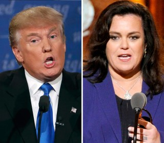 Donald Trump Resurrects Decade-Old Rosie O'Donnell Feud (Again)