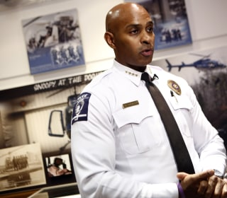 Why the Charlotte Police Chief Was the 'Least Likely' to Go Into the Force