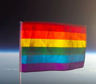 First Pride Flag Launched Into Outer Space