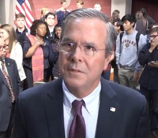 Jeb Bush: Not Voting Clinton or Trump Would Send Message